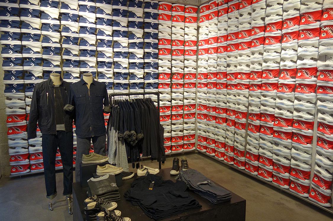 Nouveau Flagship store de la marque Converse | Volcan Design