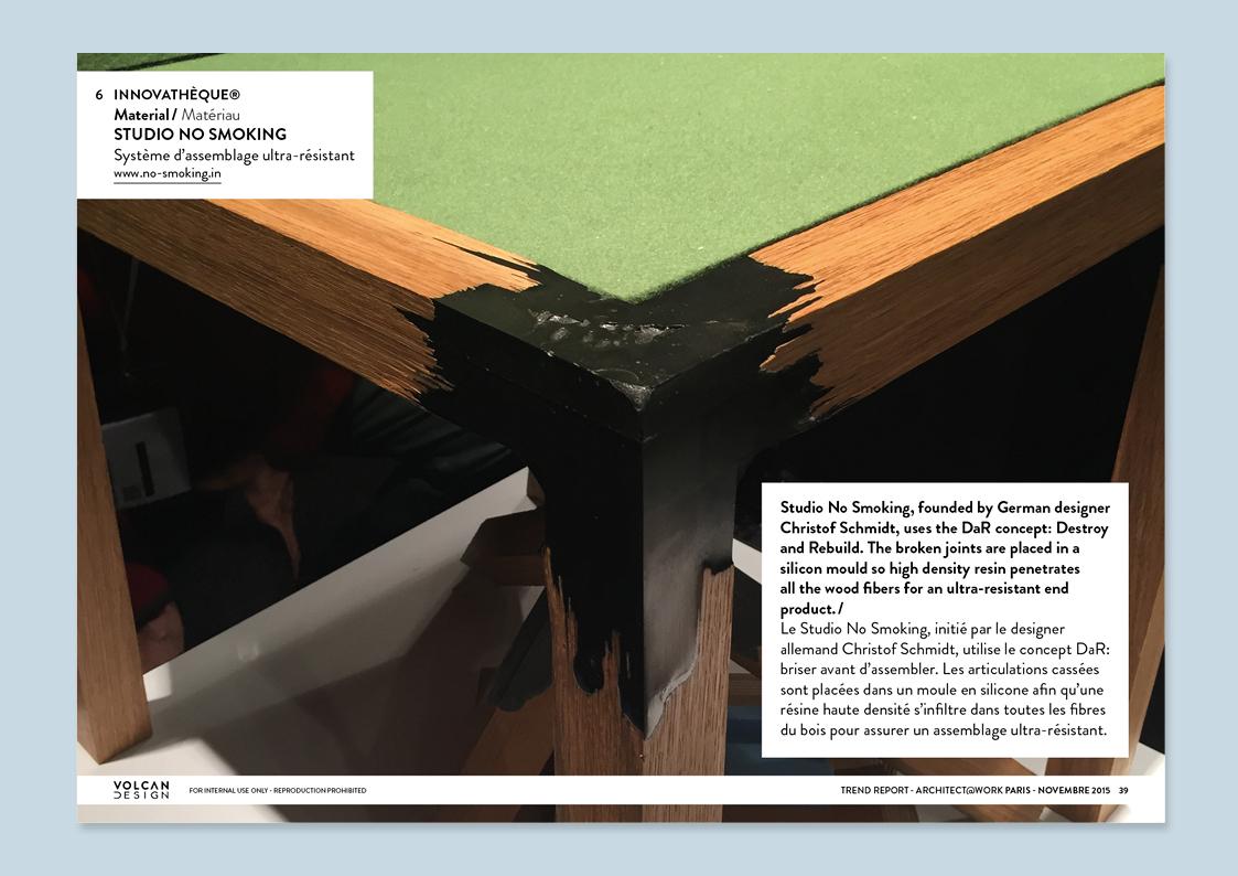 architect work 2015 volcan design. Black Bedroom Furniture Sets. Home Design Ideas