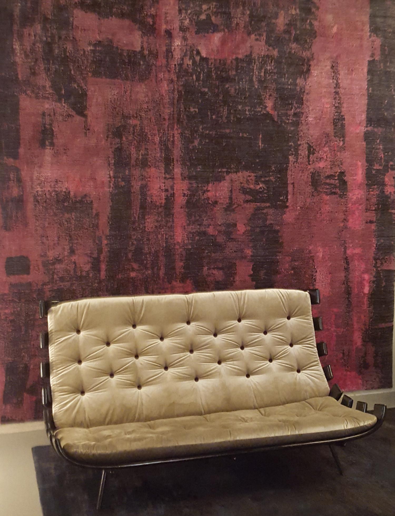 le bois de rose couleur phare de la milano design week 2016 volcan design. Black Bedroom Furniture Sets. Home Design Ideas