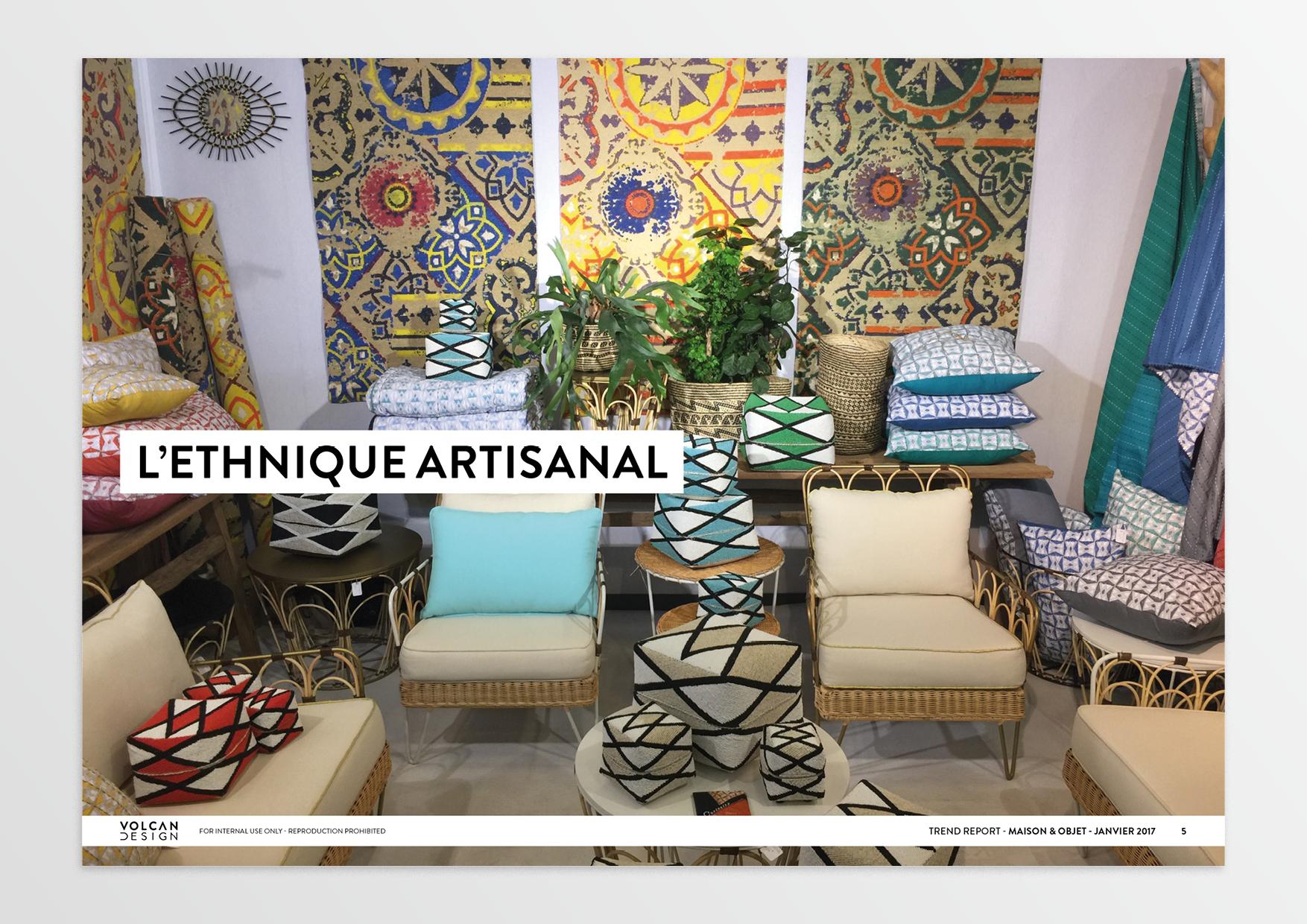 trend report maison objet janvier 2017 volcan design. Black Bedroom Furniture Sets. Home Design Ideas