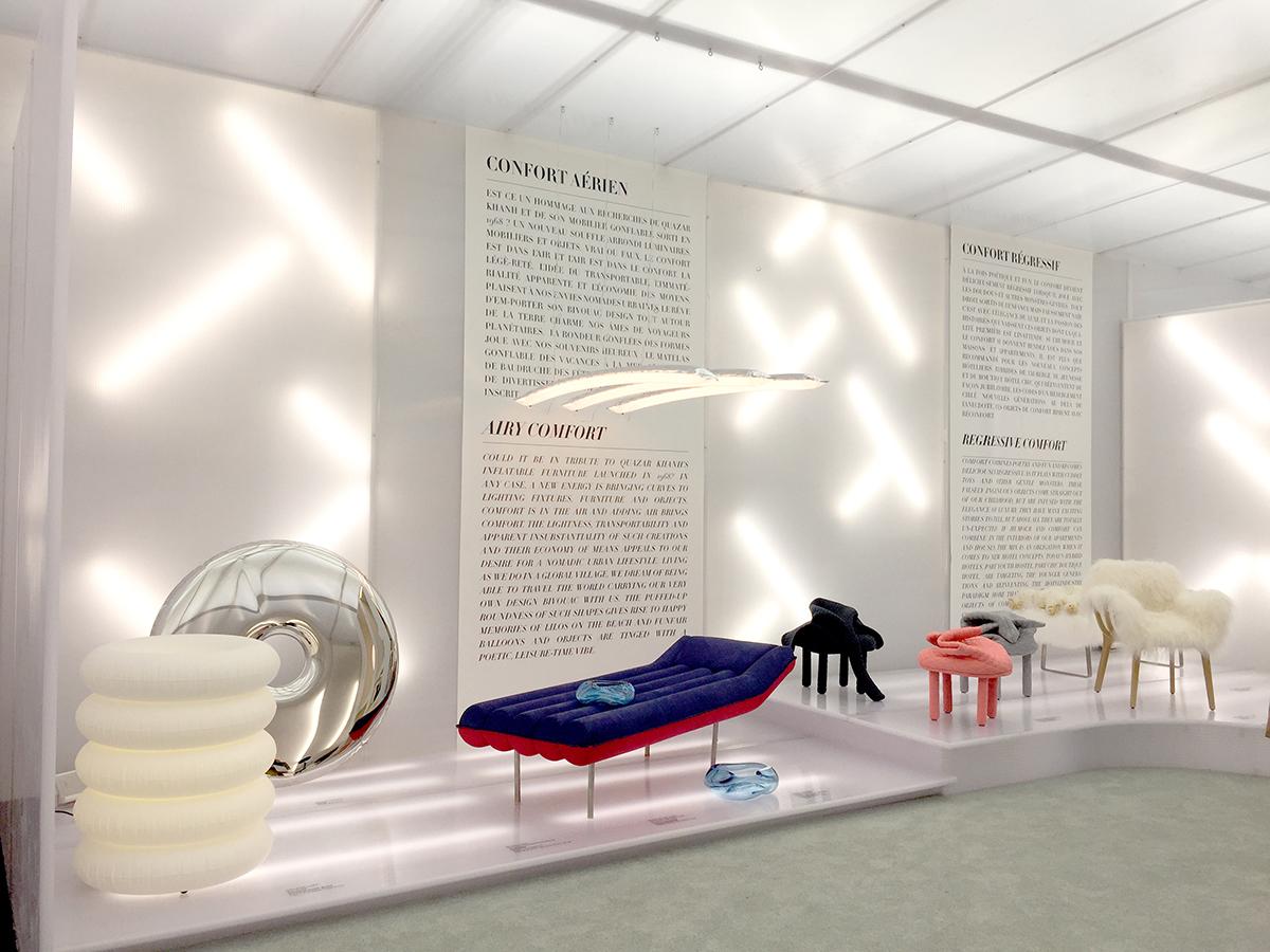 design trend focus paris design week 2017 best scenography volcan design. Black Bedroom Furniture Sets. Home Design Ideas