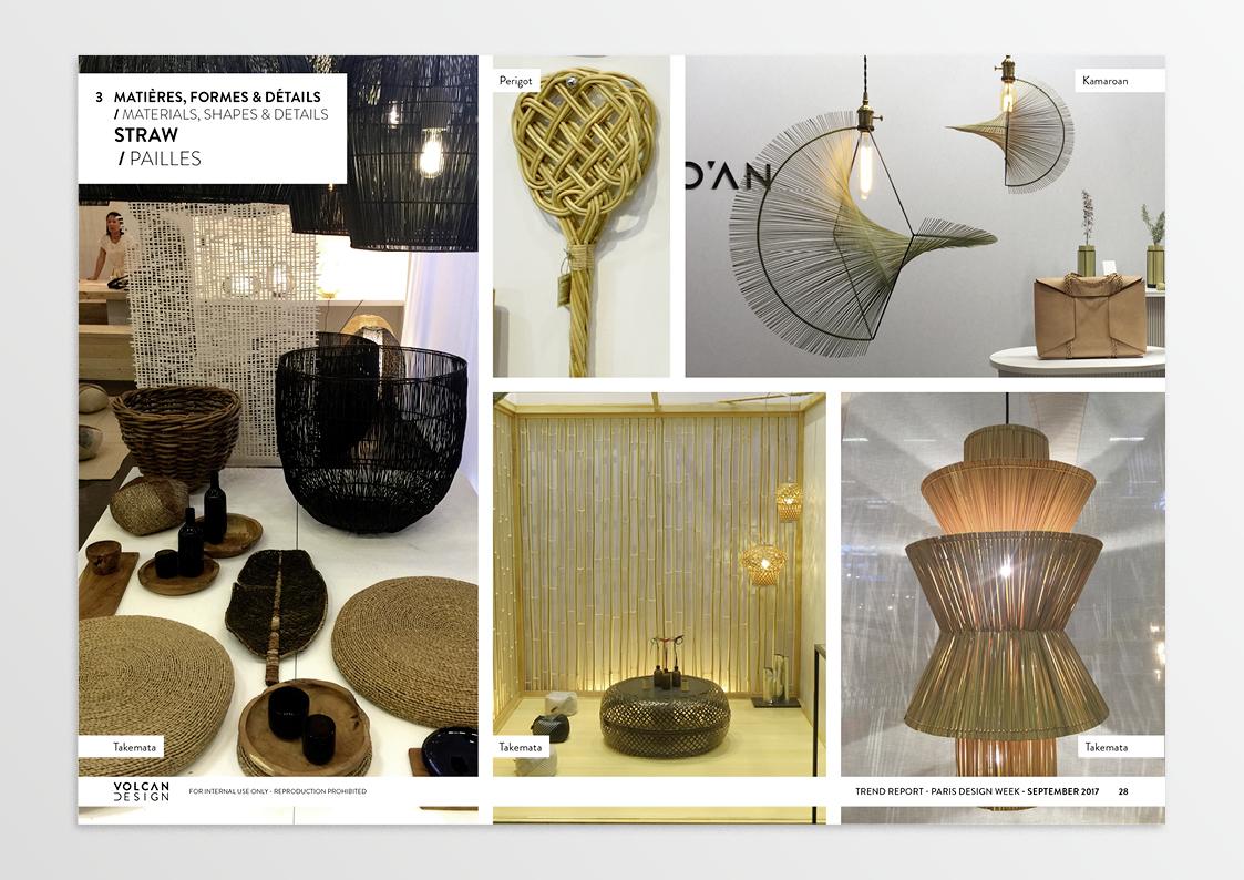 trend report paris design week 2017 volcan design. Black Bedroom Furniture Sets. Home Design Ideas