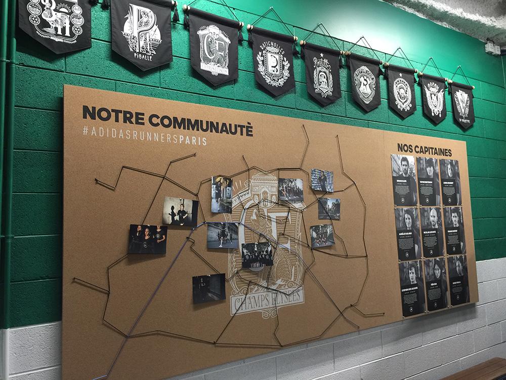 Le Flagship Store d'Adidas réinventé sur les Champs Elysées